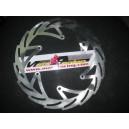Disco de freno floreado delantero Kawasaki