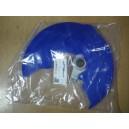 Cubredisco delantero + soporte KTM/Husq azul