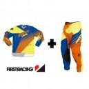Equipacion First Racing Naranja